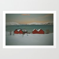 Postcards from Norway Art Print