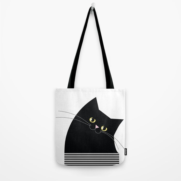 Black Cat of Lara Tote Bag