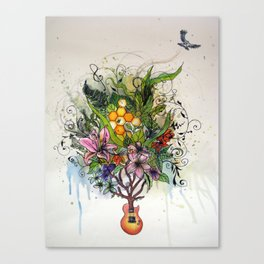 Music and Nature Canvas Print