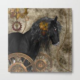 Beautiful wild horse Metal Print