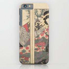 Keisai Eisen - A Modern Day Clear Mirror (Masukagami) 2 (1822) iPhone Case