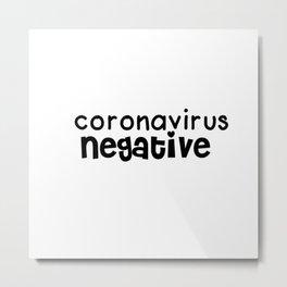 negativo Metal Print