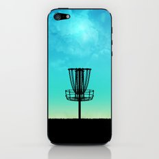 Disc Golf Basket Silhouette iPhone & iPod Skin