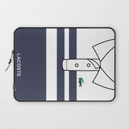 Lacostee Blue Laptop Sleeve