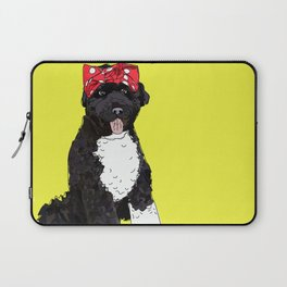 Political Pup -Every Vote Counts Laptop Sleeve