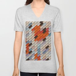 scales & shadows Unisex V-Neck