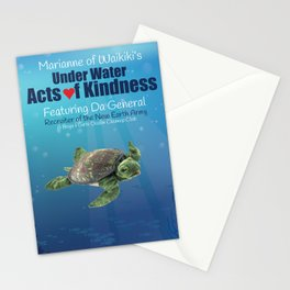 Under Water Acts of Kindness: Da General Stationery Cards