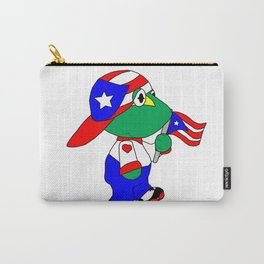 Puertorican Coqui Logo Carry-All Pouch
