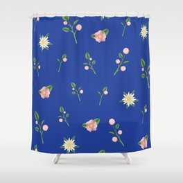 Rose & Edelweiss Shower Curtain