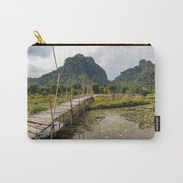 Limestone Karst Peaks, Trang An Region, Vietnam Carry-All Pouch
