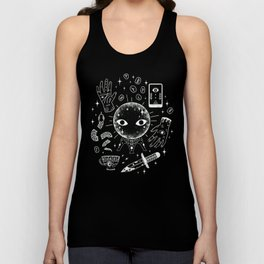 I See Your Future: Glow Unisex Tank Top