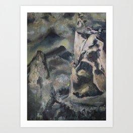 Detritus 1 Art Print