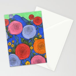 Colors in the Blue Ridge Mountains Stationery Cards