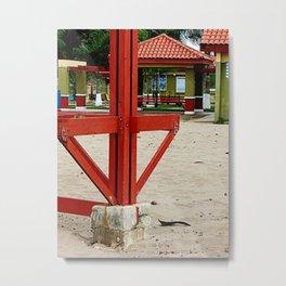 Balneario Pico de Piedra @ Aguada Metal Print