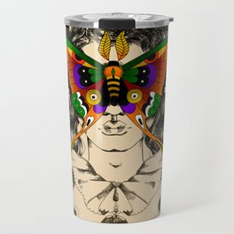 Butterfly Woman Travel Mug