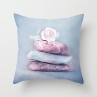 kpop Throw Pillows featuring BALANCE by INA FineArt