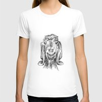 goat T-shirts featuring Goat by Sarah Mosser