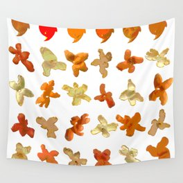 Orange Peel Party Wall Tapestry