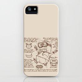 Minion Plan iPhone Case