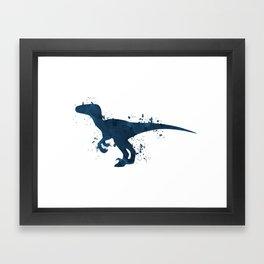 Velociraptor Framed Art Print