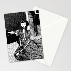 it is only a paper moon Stationery Cards