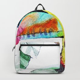 Rainbow Toucan Backpack