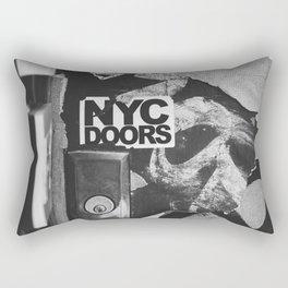 NYC Doors Rectangular Pillow