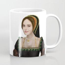 Anne Boleyn painting - on transparent background Coffee Mug