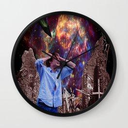 Supernova of Solitude Wall Clock