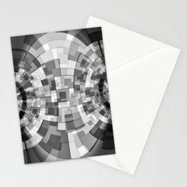 GS Geometric Abstrac 09BM2 S6 Stationery Cards
