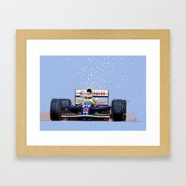 Nigel Mansell Framed Art Print