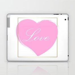 Gold Framed Love Laptop & iPad Skin