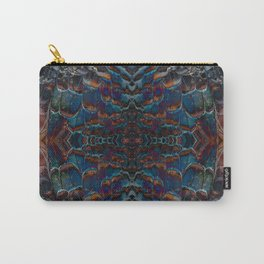Feather fusion geometry VI Carry-All Pouch
