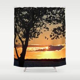 Sunset on Summerside Shower Curtain