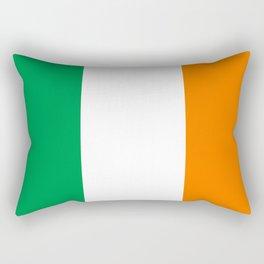 Irish national flag - Flag of the Republic of Ireland, (High Quality Authentic Version) Rectangular Pillow