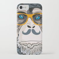 monkey iPhone & iPod Cases featuring Monkey! by  Steve Wade ( Swade)