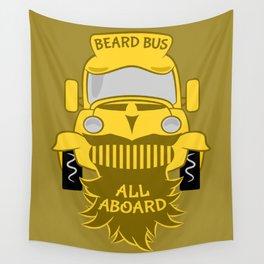 Beard Bus Wall Tapestry