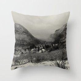 Telluride Mist Throw Pillow