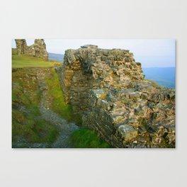 Dinas Bran Castle Ruins Canvas Print