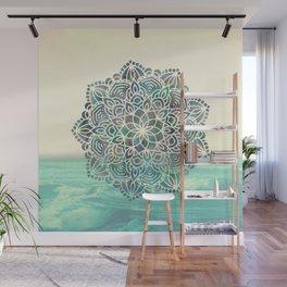 Mandala Mermaid Oceana Wall Mural