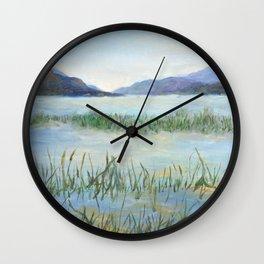Columbia Lake Wall Clock