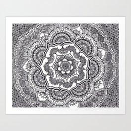 Spring Lotus Art Print