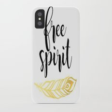 Free Spirit iPhone X Slim Case