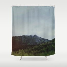 The Last Frontier Shower Curtain