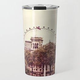 Whitehall & the London Eye from St James's Park Travel Mug