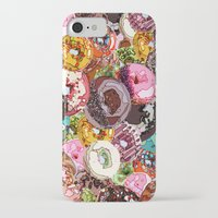 donuts iPhone & iPod Cases featuring Donuts by Tina Mooney