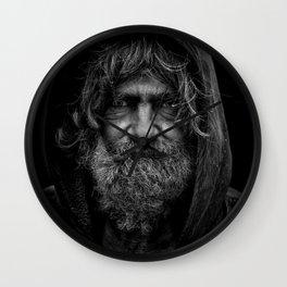 beard man 2 Wall Clock