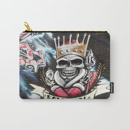 Las Vegas Skull Graffiti Carry-All Pouch