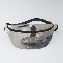 Watercolor Bird Canada Goose 02, See Ya Later Fanny Pack