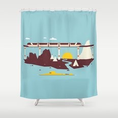 Magical Minimalism Shower Curtain